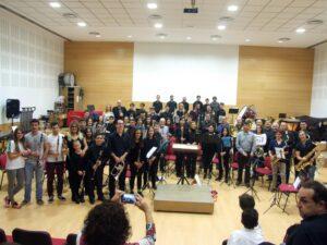 banda juvenil de la Asociación Musical San Indalecio
